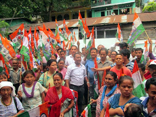 quarry laborer from NH 10 Teesta joins TMC