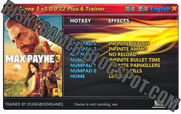 Everything 4 gamers max payne 3 plus 6 trainer for Bureau xcom declassified trainer