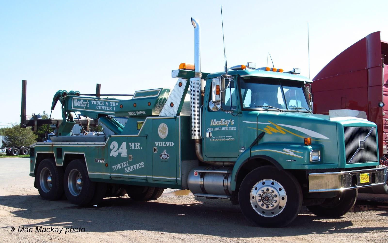 Truckfax: Veteran Wreckers from Northern Nova Scotia
