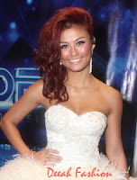 Kebaya Agnes Monica Grand Final Indonesian Idol 2012 (Result Show)