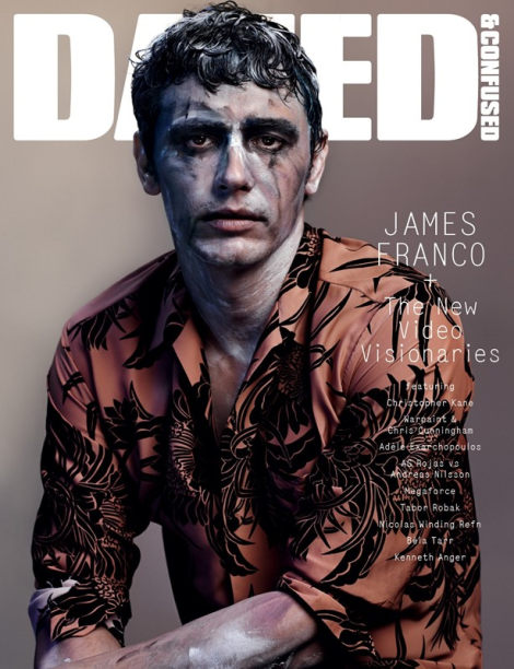 James Franco by Josh Olins for Dazed & Confused