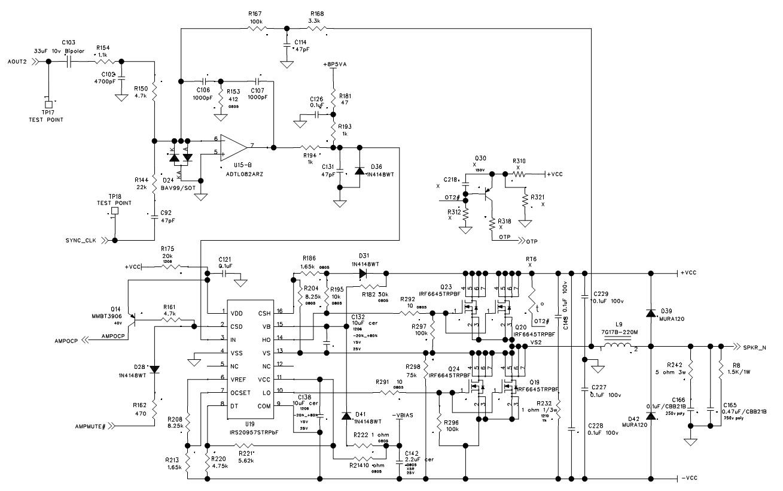 JBL MSA5001  1 CHANNEL Digital Signal Processing Amplifier        Wiring       Diagram        Power and