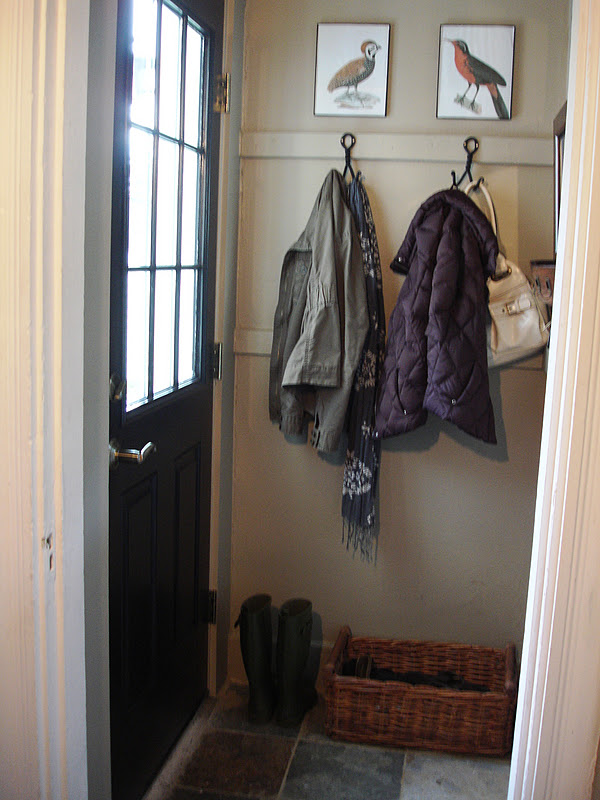 loft & cottage: my mini mudroom makeover