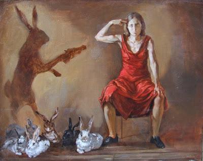 Malice In Wonderland, Ulyana Gumeniuk, Paula Rego, Portugal, Coelho