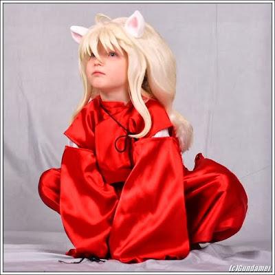 Cosplay Inuyasha Criança
