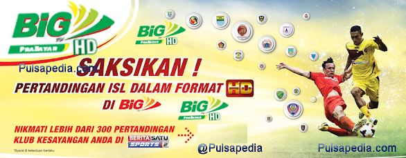 Harga Voucher Khusus ISL 2015 Big TV Prabayar