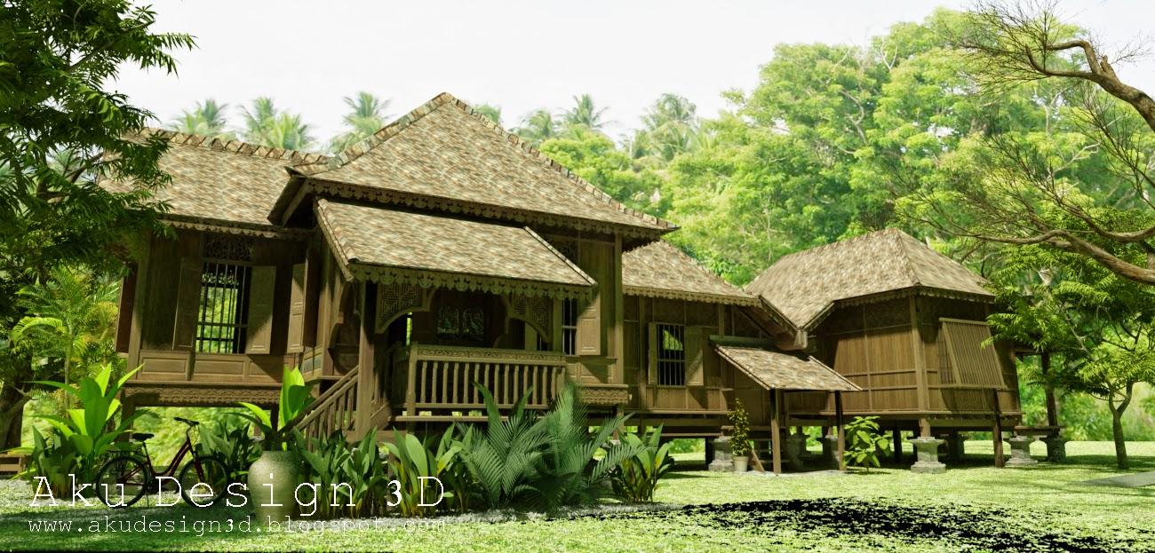 Aku Design 3D 3D Modelling Malaysian Traditional