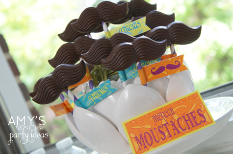 chocolate mustache bash part ideas