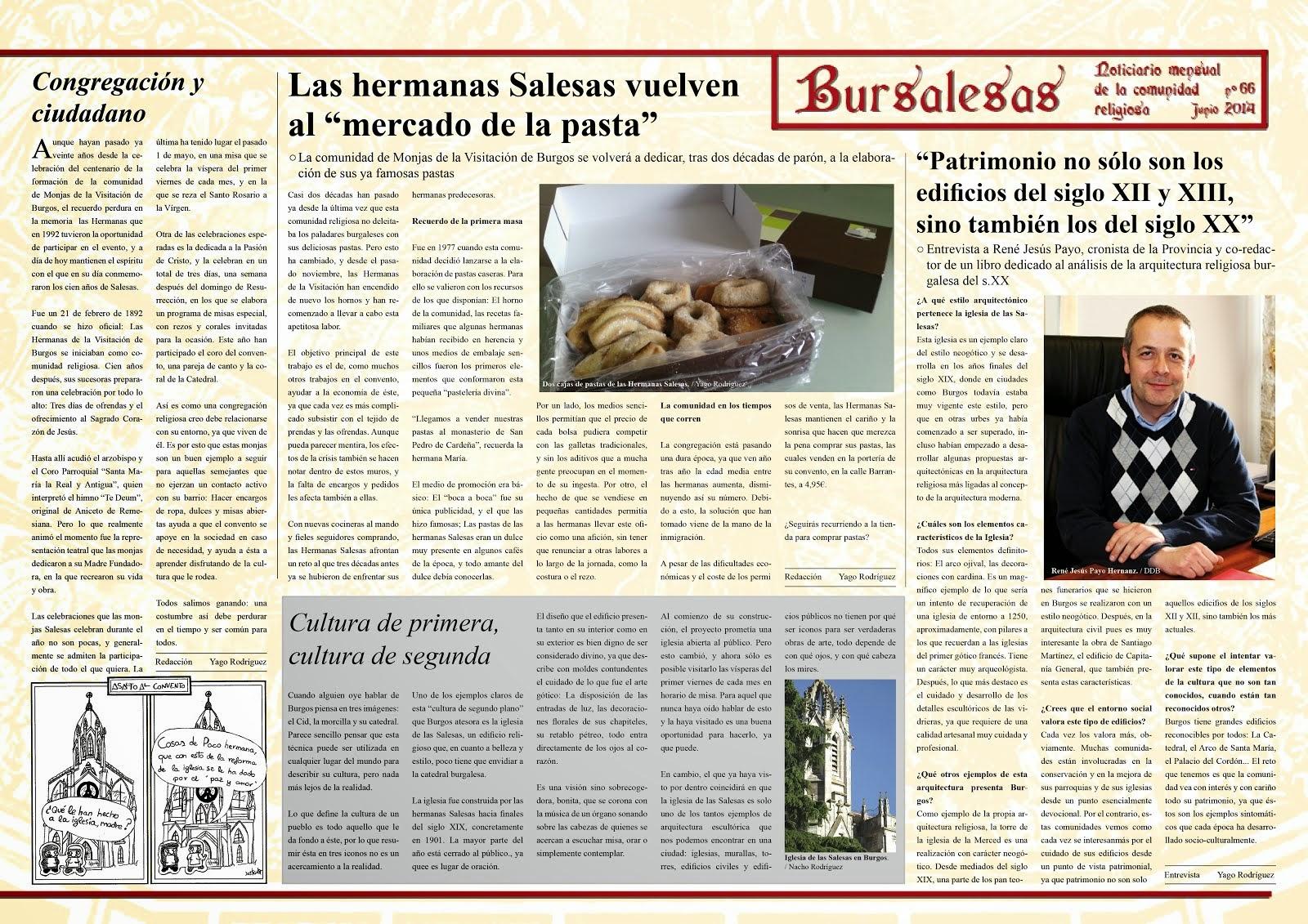 Edición impresa: Cartelón informativo