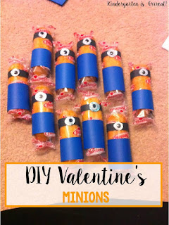 Looking for a fun valentine's day card or craft for your kid to make!  Check out these minion cards with twinkie cakes!  They are perfect for valentine's cards for a class or can be a fun activity or goodie bag for a Despicable Me party!  Super easy so you can DIY!