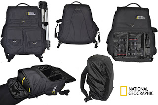tas kamera national geographic kw hitam