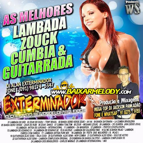 CD EXTERMINADOR LAMBADA, ZOUK, CUMBIA GUITARRADA (FAIXA UNICA)