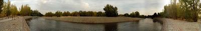 panorámica río Gállego Zaragoza