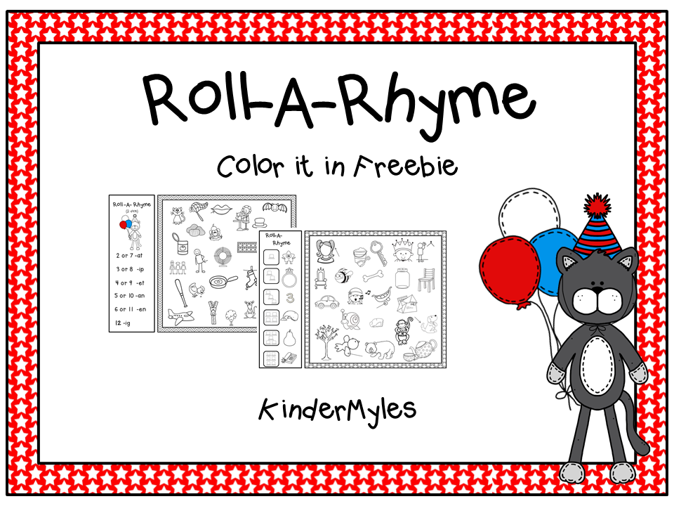 http://www.teacherspayteachers.com/Product/Roll-A-Rhyme-Freebie-1140134