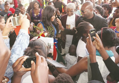 bbafrica 2016 Dillish Mathews Birthday party