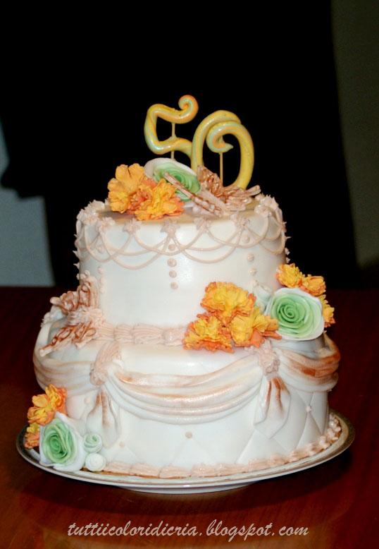 Una Torta Per 50 Anni