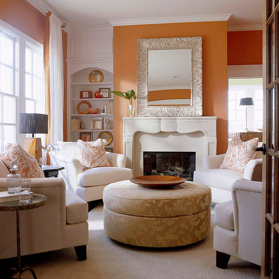 Modern furniture fresh living rooms decorating ideas 2011 for 4 chair living room arrangement
