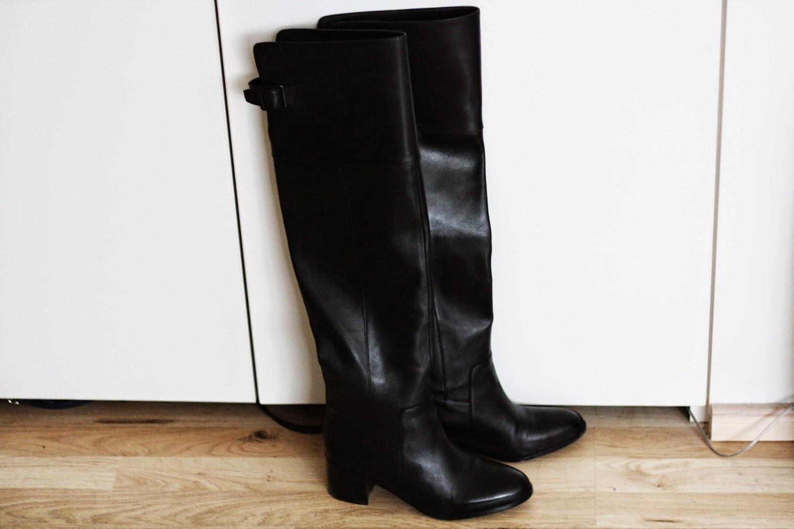 Leather Boots Aldo