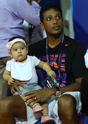 Saira daughter Mahesh Bhupathi Lara Dutta