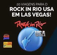 Promoção Você com a am/pm no Rock in Rio Estados Unidos!