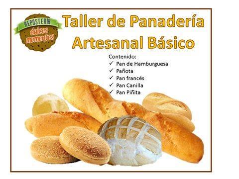 Taller de Panadería Artesanal Basico