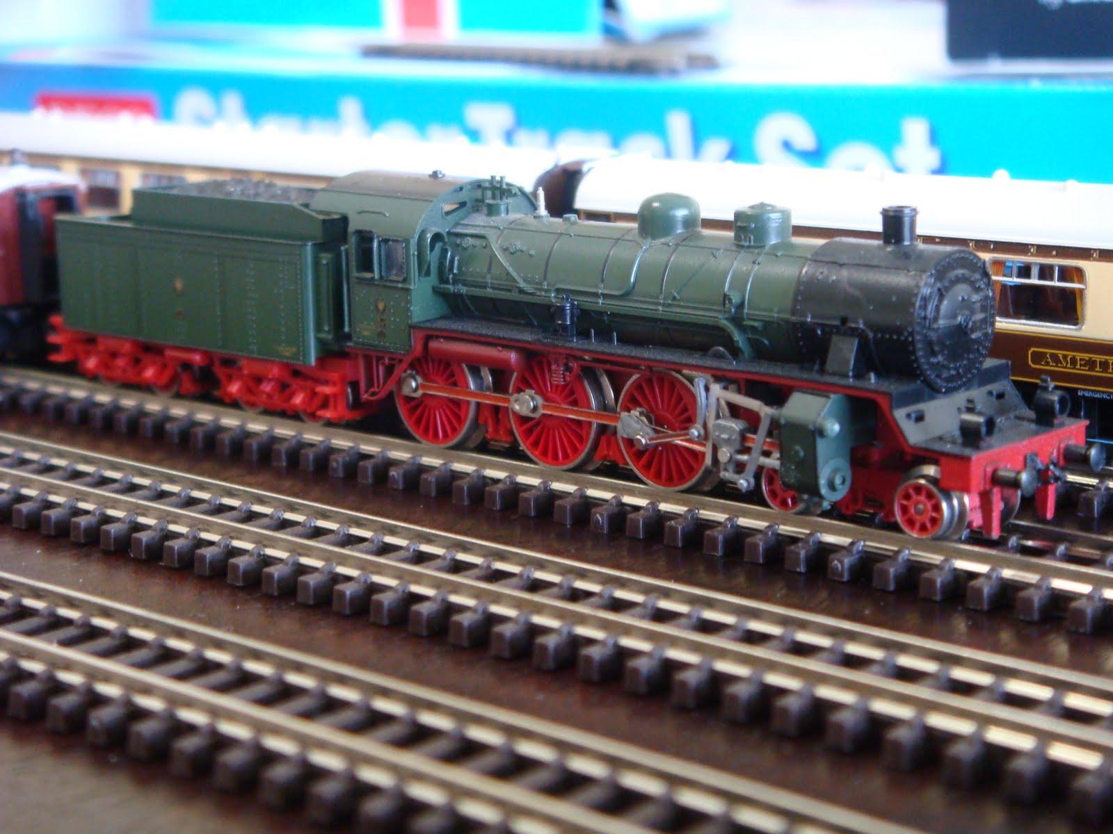 Fairhaven n scale model railway fleet profile for Orient mobel