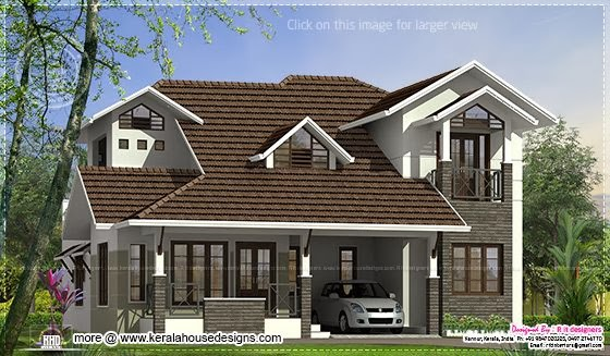 2551 sq-ft villa