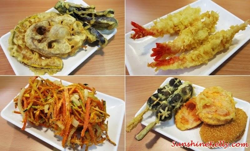 Assorted Tempura, Kodowari Menya, Udon & Tempura, Kodowari Menya Udon & Tempura Review, Kodowari Menya Udon & Tempura Launch, Japanese Noodle, Japanese Food, Sanuki Udon, Kagawa, Japan, 1 Mont Kiara