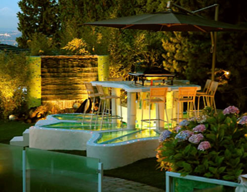 Garden Landscape Design and Lighting
