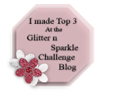 Top 3 Over at Glitter n Sparkle