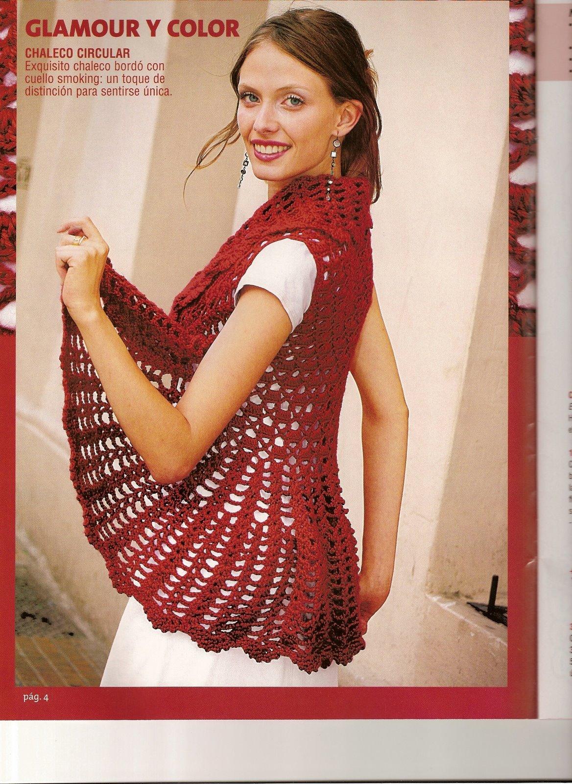 Para practicar el tejido en redondo o circular con puntos en crochet!