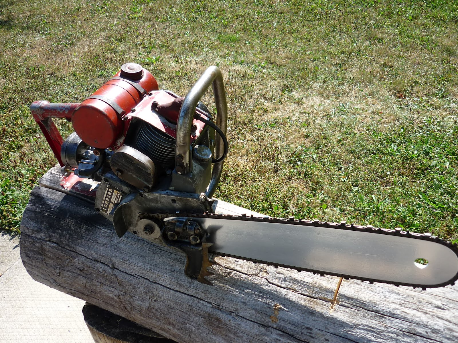 Vintage chainsaw collection lombard 35