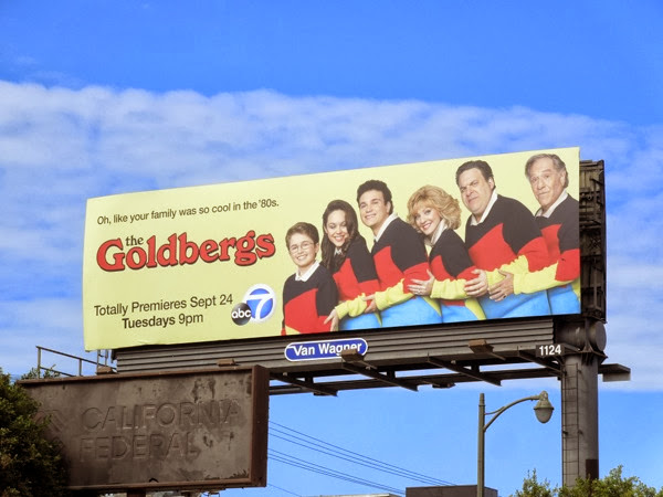 Goldbergs series premiere billboard