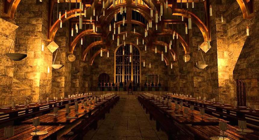 Comedor Harry Potter Of San Valent N En Hogwarts Chica Sombra
