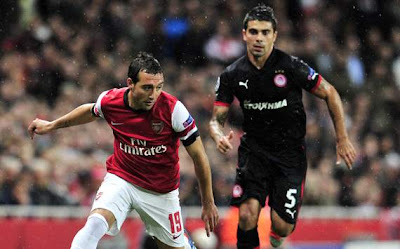 Hasil dan Video Gol Arsenal vs Olympiakos Tadi Malam