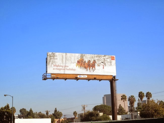 magical holiday Wells Fargo billboard