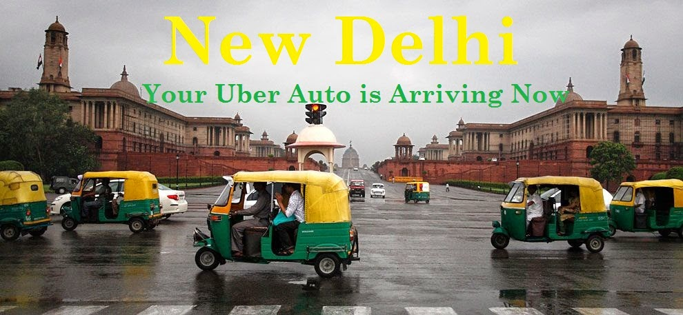 DELHI: YOUR UBER AUTO IS ARRIVING NOW