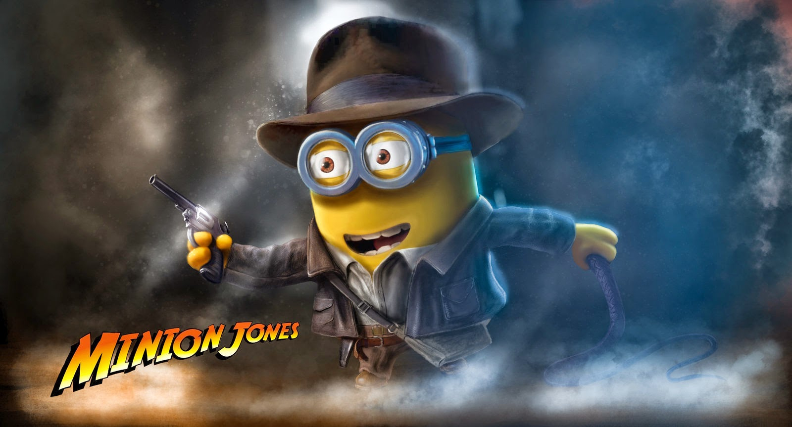 minion indiana jones