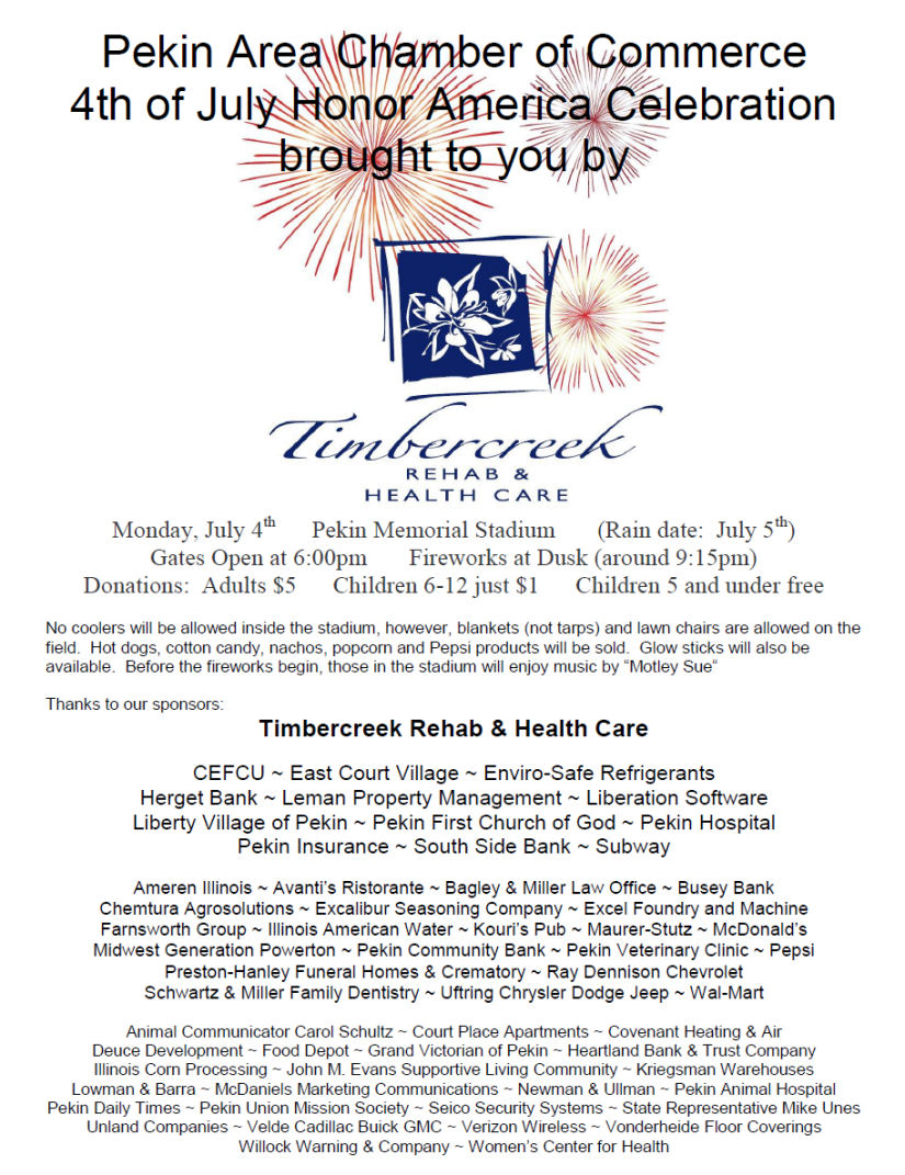 4th Of July Honor America Celebration