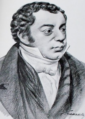 Dibujo de Bernardino Rivadavia