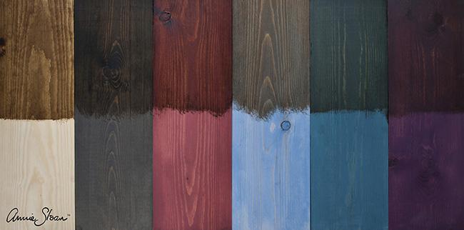 Mahogany Wood Color Paint ~ Annie sloan paint colour faking a rich mahogany look