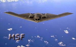 Steath Bomber máquina de guerra
