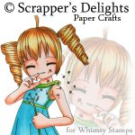 Scrappers Delight @ Whimsy Stamps