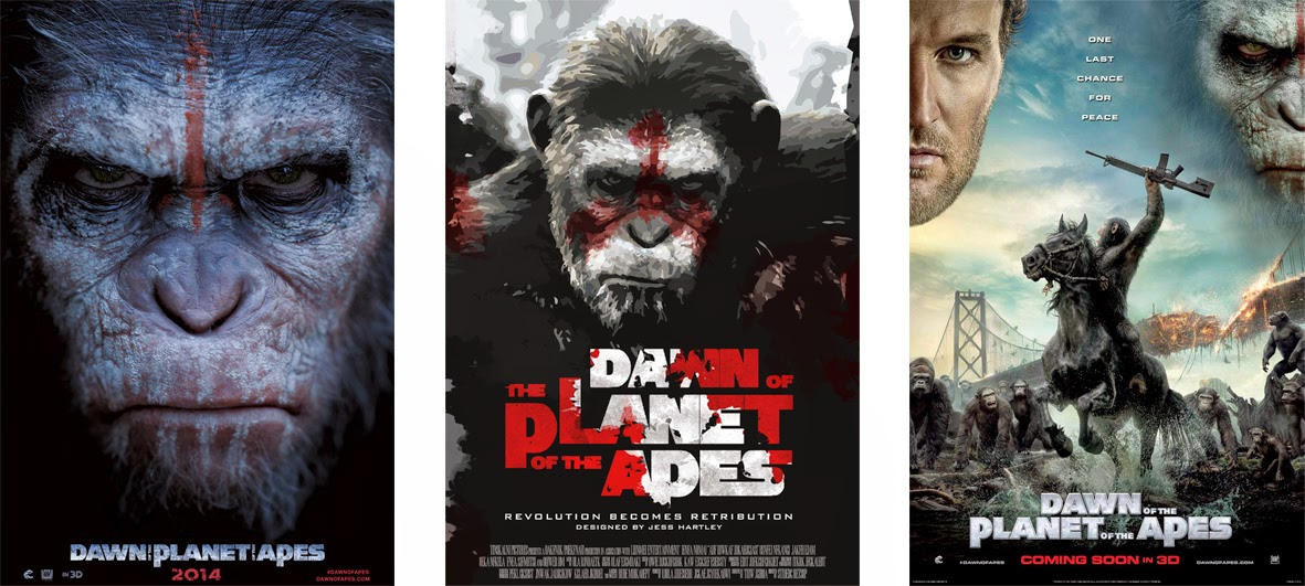 Dawn of the Planet of the Apes - Ewolucja planety małp (2014)