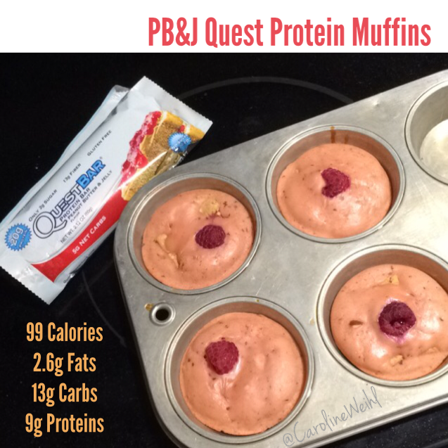 Caroline PB&J Quest Protein Muffins