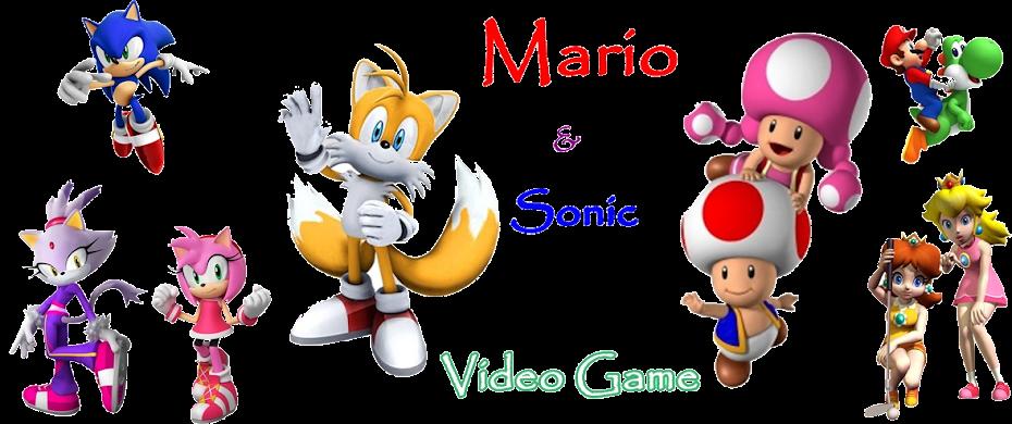 Mario e Sonic video game