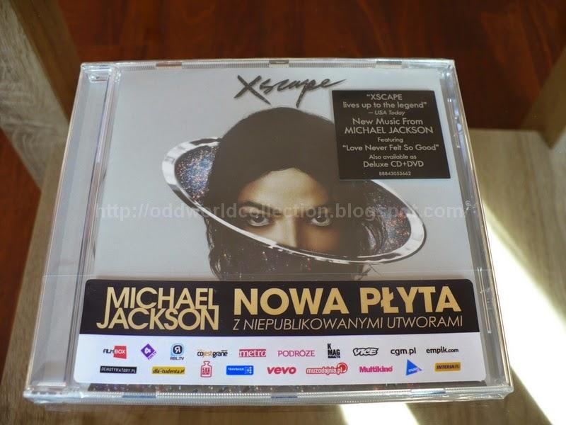 Michael Jackson XSCAPE 888430536623 Standard Edition Polish Sticker