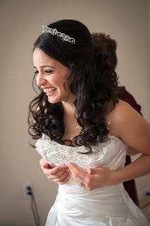 happy florida bride