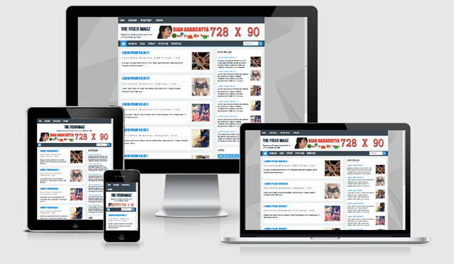 The FiSEO Magz Blogger Template