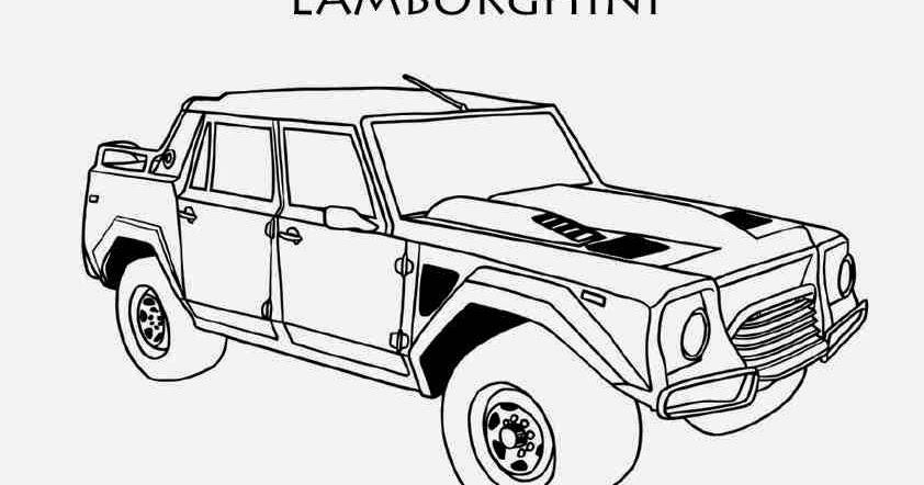 dessin coloriage de voiture lamborghini coloriage voiture. Black Bedroom Furniture Sets. Home Design Ideas